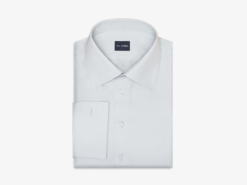 Мужская классическая серая сорочка pernobile.com