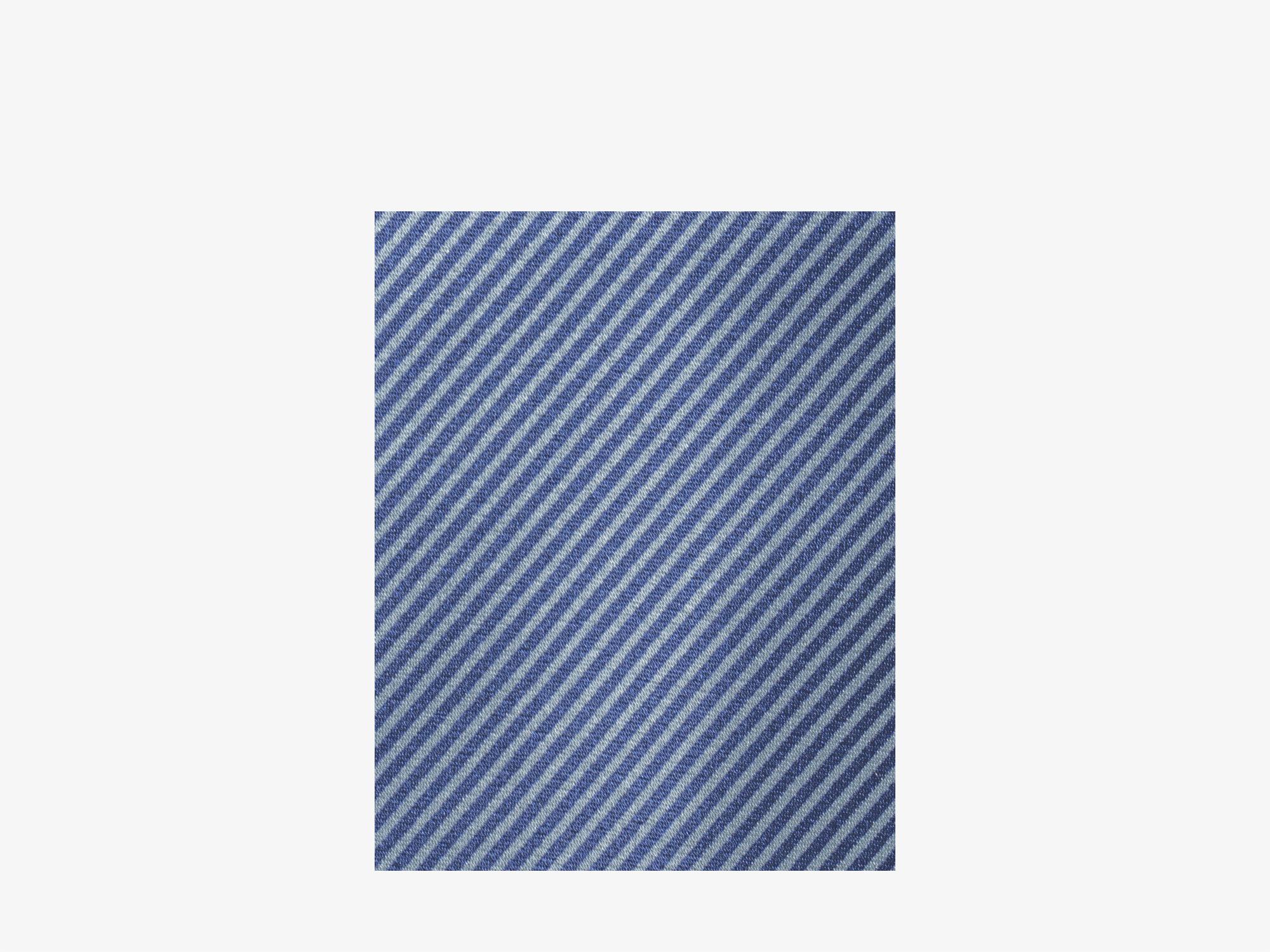 Шёлковый галстук в мелкую полоску