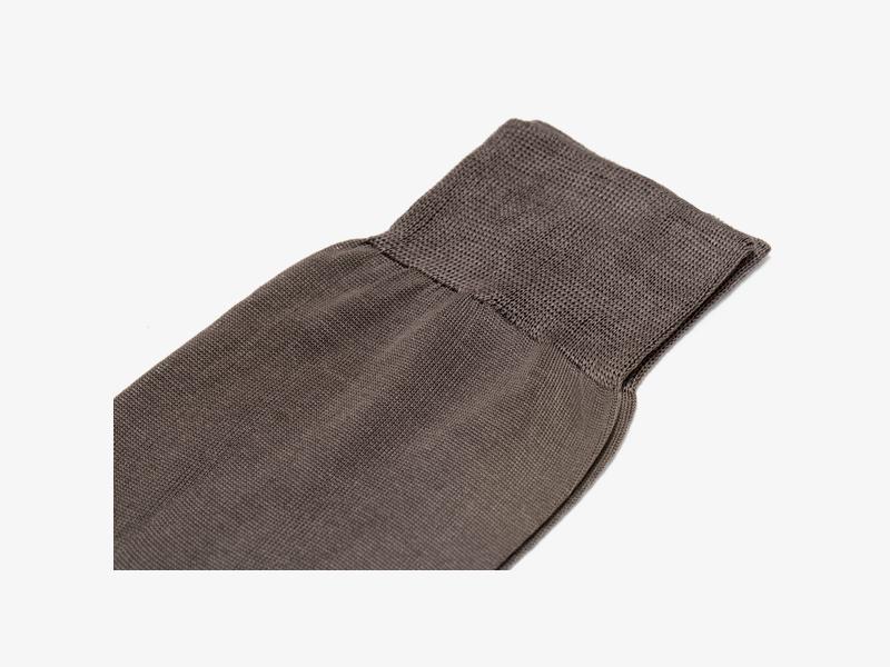 Коричневые носки из 100% хлопка