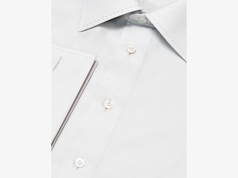 Мужская классическая серая сорочка Per Nobile