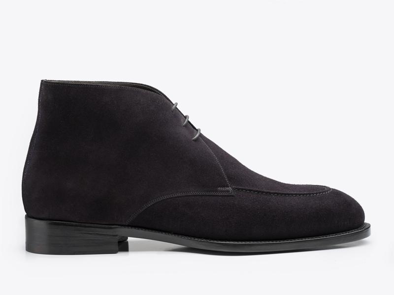 235)Мужские ботинки чукка из замши