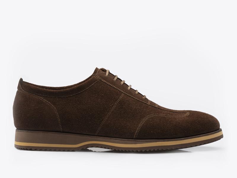 219)Туфли спортивные из замши