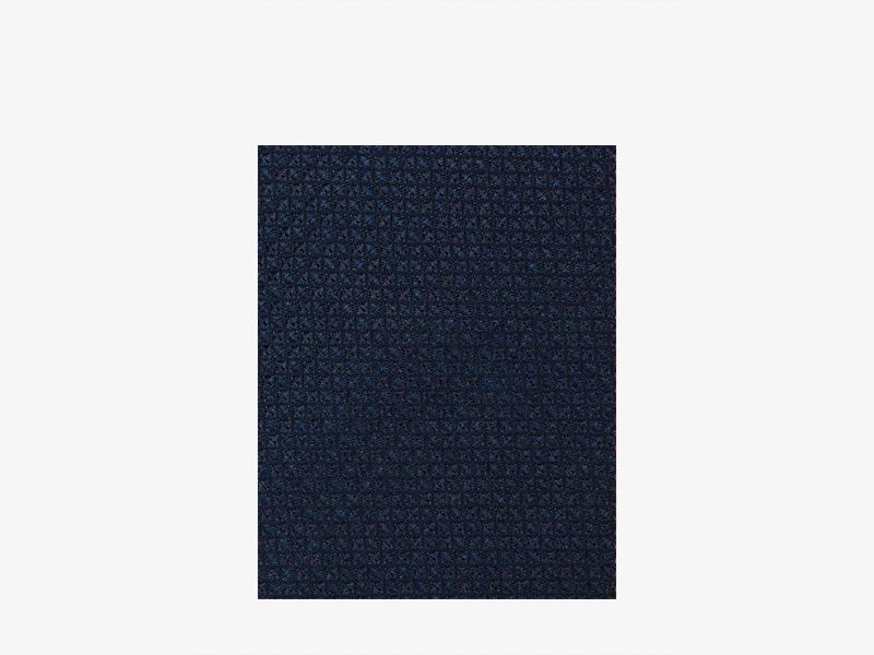Галстук тёмно-синий шёлковый