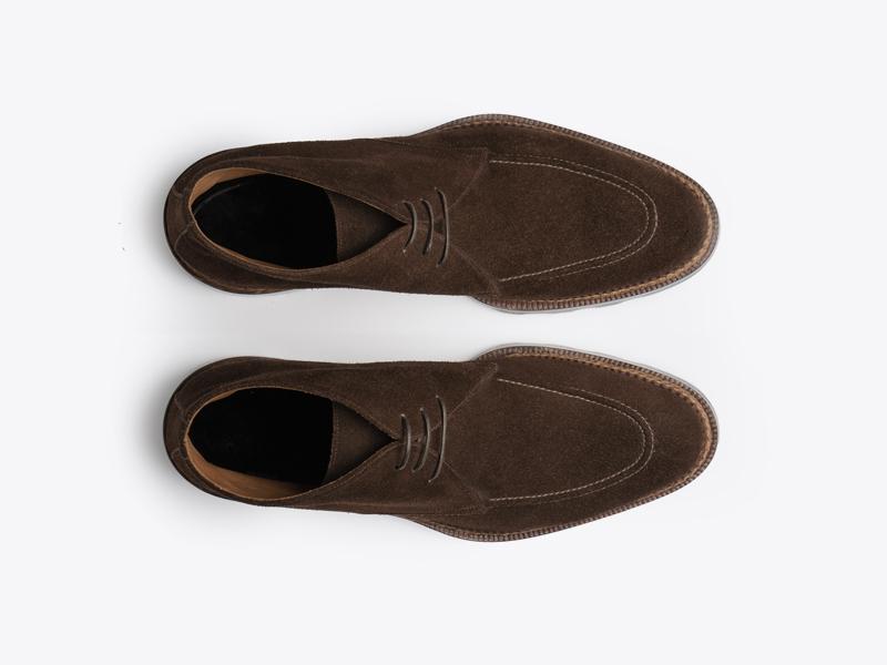 Мужские ботинки чукка из замши Per Nobile