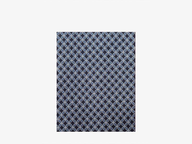 Шёлковый галстук с микроузором