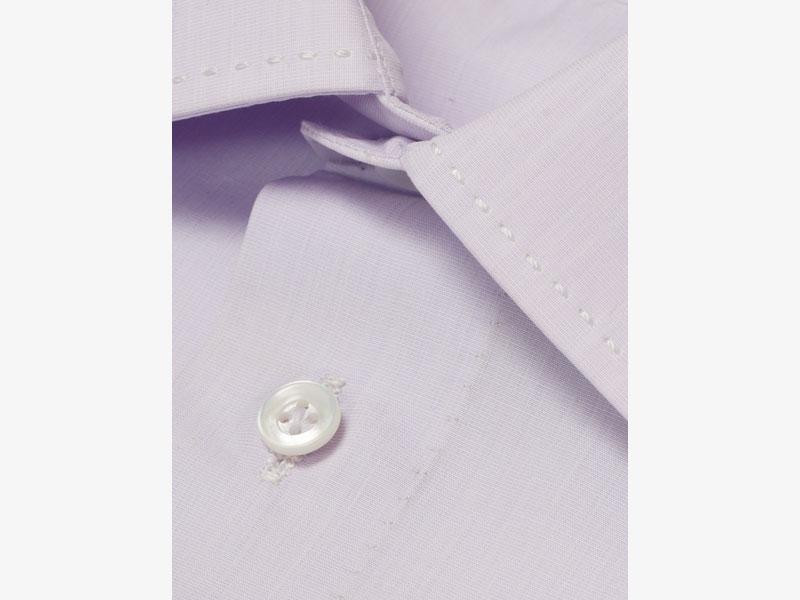 Хлопковая сорочка с манжетами под запонки Per Nobile