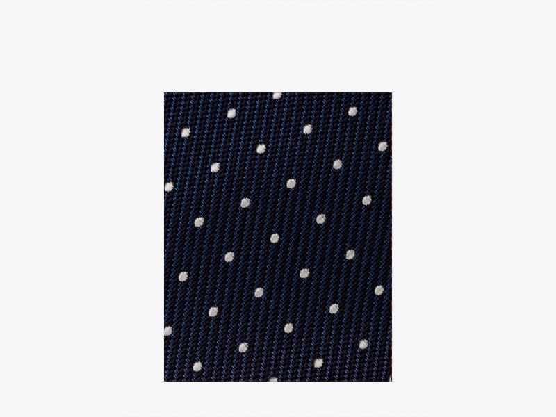 Шёлковый галстук с узором
