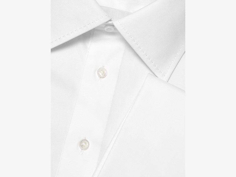 Белая сорочка под запонки Per Nobile