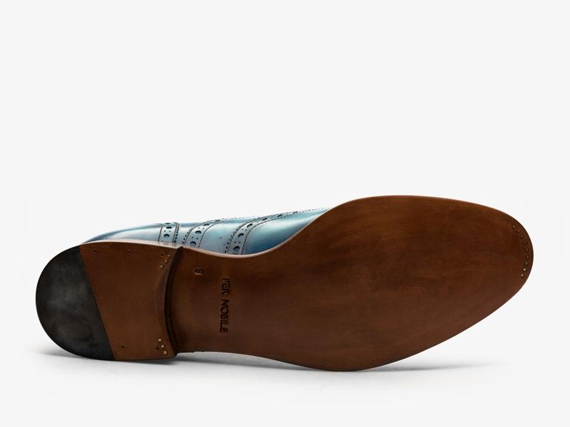 Кожаные броги на шнуровке Per Nobile